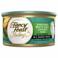 Fancy Feast Medleys Shredded White Meat Chicken Fare Wet Cat Food