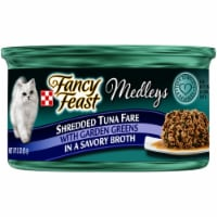 Fancy Feast Medleys Shredded Tuna Fare Wet Cat Food