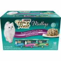 Fancy Feast Gourmet Cat Food Medleys Florentine Collection Variety Pack