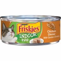Friskies Indoor Pate Chicken Dinner Wet Cat Food - 5.5 oz