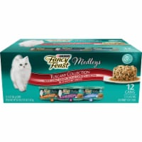 Purina Fancy Feast Elegant Medleys Tuscany Collection Wet Cat Food Variety Pack