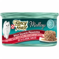 Fancy Feast Medleys Wild Salmon Primavera Wet Cat Food