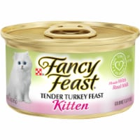 Fancy Feast Kitten Tender Turkey Feast Wet Cat Food