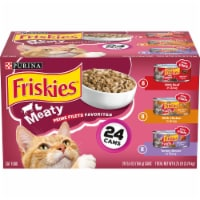 Purina Friskies Prime Filets Meaty Favorites in Gravy Wet Cat Food Variety Pack