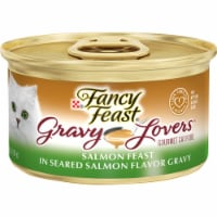 Fancy Feast Gravy Lovers Salmon Feast Wet Cat Food