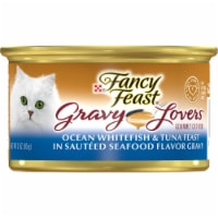 Fancy Feast Gravy Lovers Ocean Whitefish & Tuna Feast Wet Cat Food