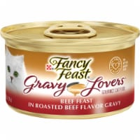 Fancy Feast Gravy Lovers Beef Feast Wet Cat Food