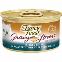 Fancy Feast Gravy Lovers Turkey Feast in Roasted Turkey Flavor Gravy Wet Cat Food
