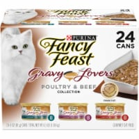 Fancy Feast Gravy Lovers Poultry & Beef Collection Variety Pack