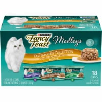 Fancy Feast Medleys Tastemakers Collection Wet Cat Food Variety Pack