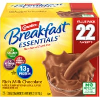 Carnation Breakfast Essentials Rich Milk Chocolate Powder Mix