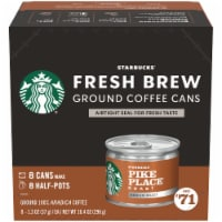 Starbucks® Pike Place® Medium Roast Fresh Brew Ground Coffee 8 Count