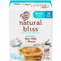 Coffee-mate Natural Bliss Vanilla Coffee Creamer Tubs 24 Count