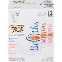 Fancy Feast Classic Collection Variety Pack 12 Count