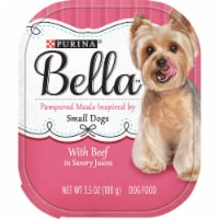 Bella with Beef Wet Food for Small Dogs