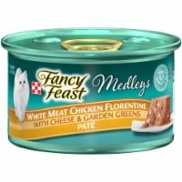 Fancy Feast Medleys White Meat Chicken Florentine with Cheese & Vegetables Pate Wet Cat Food