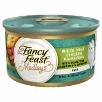 Fancy Feast Medleys White Chicken Primavera Pate Wet Cat Food