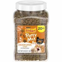 Friskies Party Mix Chicken Lovers Cat Treats