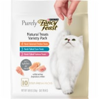 Fancy Feast Natural Cat Treats Variety Pack