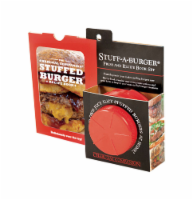 Charcoal Companion Red Burger Press Set 3 pc. - Case Of: 1; - Count of: 1