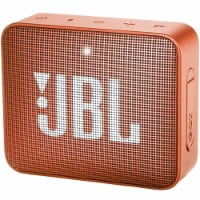 Jbl Go 2 Wireless Waterproof Bluetooth Speaker Coral Orange - 1