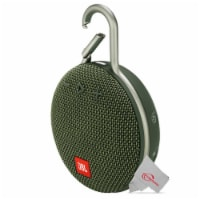 Jbl Clip 3 Portable Waterproof Wireless Bluetooth Speaker - Green - 1