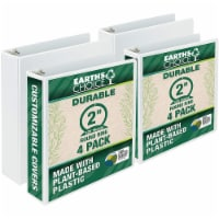 Samsill Earth's Choice Ring Binders - 4 pk - White