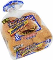 Ball Park Jumbo Seeded Burger Buns 8 Count