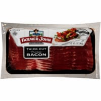 Farmer John Premium Thick Cut Hardwood Smoked Bacon - 12 oz