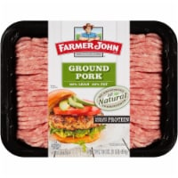 Farmer John 80/20 Natural Ground Pork - 16 oz