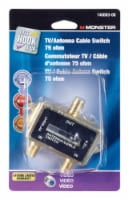 Monster Cable Just Hook It Up TV Antenna Cable Switch 1 pk - Case Of: 1; - Count of: 1