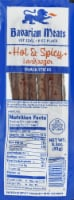 Bavarian Meats Hot & Spicy Landjaeger Snack Sticks