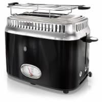 Russell Hobbs TR9150BKR Retro Style 2 Slice Toaster - Black