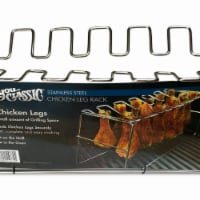 Bayou Classic 770 Stainless Chicken Leg Rack