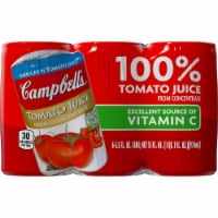 Campbell's Tomato Juice from Concentrate 6 Count