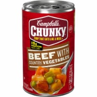 Campbell's Chunky Beef with Country Vegetables Soup