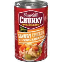 Campbell's Chunky Savory Chicken With White & Wild Rice Soup