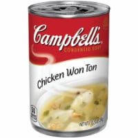 Campbell's Chicken Won Ton Condensed Soup
