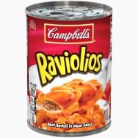 Campbell's Raviolios Beef Ravioli in Meat Sauce - 15 oz