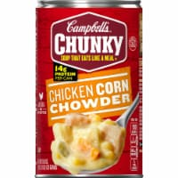 Campbell's Chunky Chicken Corn Chowder - 18.8 oz