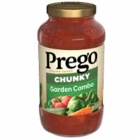 Prego Garden Harvest Chunky Combo Italian Sauce - 23.75 oz