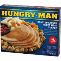 Hungry-Man Roasted Carved White Meat Turkey Frozen Meal