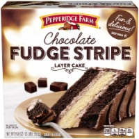 Pepperidge Farm Chocolate Fudge Stripe Layer Cake