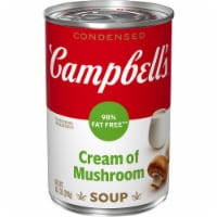 Campbell's 98% Fat Free Cream of Mushroom Condensed Soup