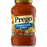 Prego Roasted Garlic & Herb Italian Pasta Sauce