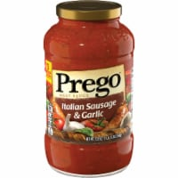 Prego Italian Sausage & Garlic Meat Sauce