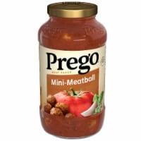 Prego Mini Meatball Pasta Sauce - 24 oz
