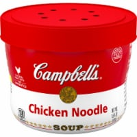 Campbell's Microwavable Chicken Noodle Soup - 15.4 oz