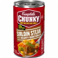 Campbell's Chunky Grilled Sirloin Steak with Hearty Vegetables Soup