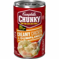 Campbell's Chunky Creamy Chicken & Dumpling Soup